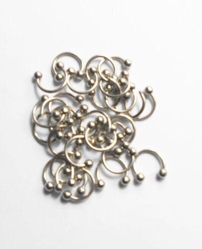 Nouvelle boîte cadeau 35//70//140PCS Mix 7 style 316 L Tragus Barbell Body Piercing Jewelry