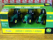 ERTL 1:64 JOHN DEERE 4850, 4955, & 4960  set of 3 Tractors