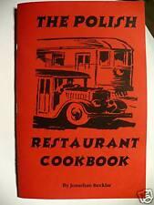 The Polish Restaurante Cookbook Auténtico Recetas Nuevo