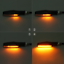 4PCS-12-LED-Motorcycle-Rear-Front-Turn-Signal-Light-Sequential-Flowing-Indicator thumbnail 7