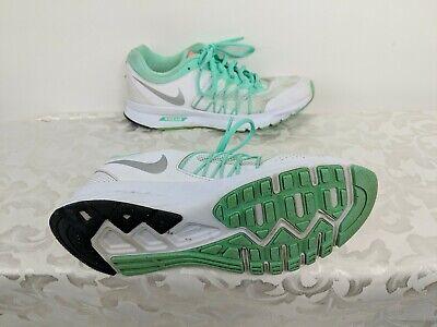 Nike Air Relentless 6 Womens US 7.5 White Green Running Shoes (843882 300) | eBay