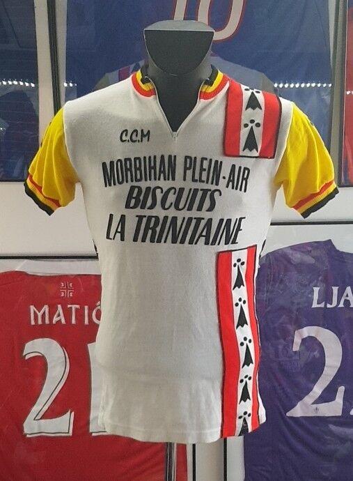 Camiseta Maglia Ciclismo Morbihan Galletas la Trinitaine Breizh