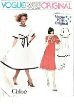 Vogue Ladies Easy Sewing Pattern 1312 Dresses with Full Ski... Free UK P/&P