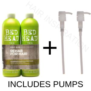 TIGI-Re-Energize-Bed-Head-Urban-Antidotes-750ml-Shampoo-amp-Conditioner-PUMPS