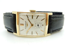 VINTAGE MENS 14K SOLID GOLD LONGINES 9LT ELEGANT DRESS SWISS WATCH