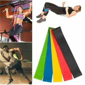 5XElastic-Resistance-Bands-Yoga-Stretch-Belt-Exercise-Gym-Fitness-Workout-Physio