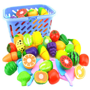 Play-House-Toy-Cut-Fruit-Plastic-Vegetable-Kitchen-Classic-Kid-Educational-To-nk