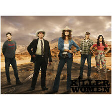 Killer Women with Tricia Helfer as Molly Parker Cast Promo 8 x 10 Inch Photo