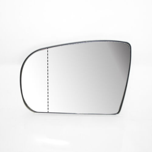 LHS Door Wing Mirror Heated /& Base Glass For Mercedes E class W210 New