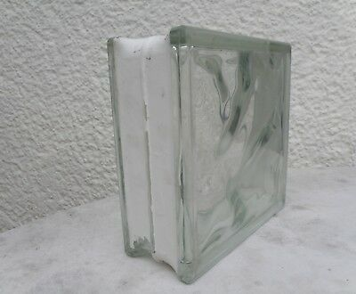 4 Glasbausteine Wolke Klar 19x19x8 Neu !!!! Glasteine Durchblutung Aktivieren Und Sehnen Und Knochen StäRken