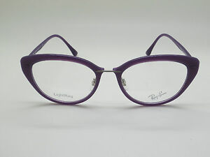 7ef6171746 New Authentic Ray Ban RB 7088 5617 Purple 52mm LightRay RX ...