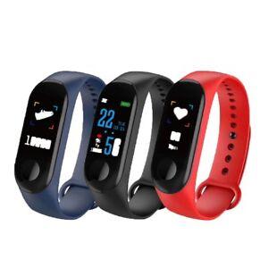 Candide Smart Bracelet Montre Bracelet Bracelet Fitness Tracker Pression Sanguine Rythme Neuf-afficher Le Titre D'origine