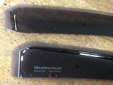 TOYOTA TUNDRA WEATHER TECH RAIN GUARDS FOR 2007-2015 CREW CAB 4PC SET 84450