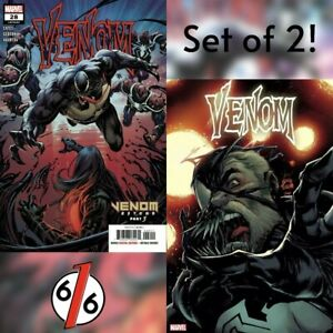 VENOM-28-SET-OF-2-Main-Cover-Stegman-Variant-NM-Gemini-Shipping
