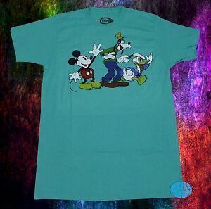 ad84a26e1104 New Disney Mickey Mouse Donald Duck Goofy Gang Classic Cartoon Mens ...