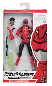 HSE5933 Hasbro Power Rangers Beast Morphers Red Ranger Lightning Collection