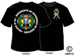 Galicia Montaña Camisetas Detalles MilitaresRegimiento Nº De Cazadores 64 SMVpLqUzG