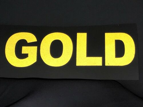 """Custom Highly Reflective Vinyl 3.0/"""" Inch Letters//Numbers 8 colors"""
