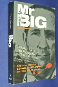 MR-BIG-Tony-Reeves-LENNIE-MCPHERSON-BIOGRAPHY-Shabby-Condition-But-Cheap