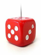 Ticket Holder - Bingo - Admission - Dice - Red (GM-3-ADM07)
