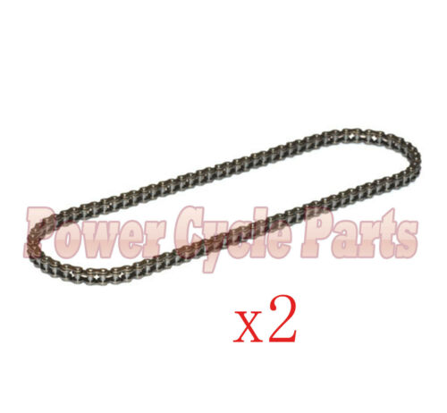 # 25 CHAIN FOR GT SHOCKWARE MINITOTO ATV ELECTIC SCOOTER 102 LINK NEW 2PCS