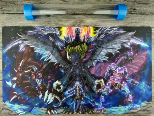 Kalin Kessler/&Hundred-Eyes/&Infernity Doom Dragons YuGiOh Playmat Free best Tube