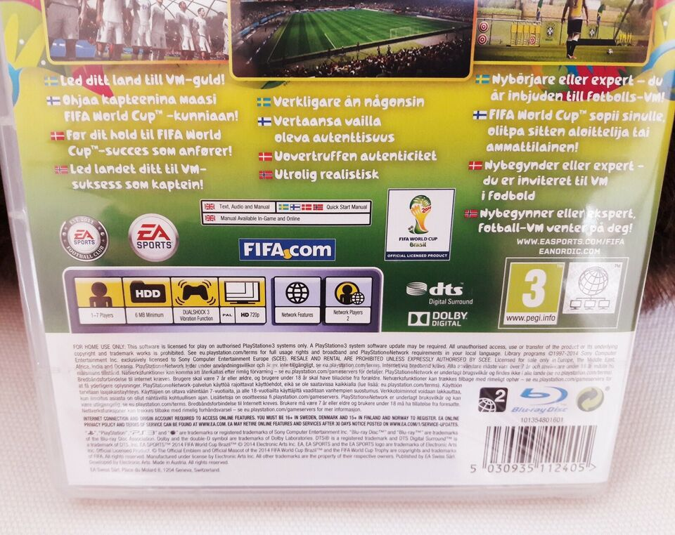 2014 FIFA World Cup Brazil, PS3, sport