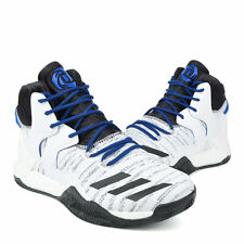 NEW!!! Sz 8.5 Adidas D Rose 7 Boost VII White Mens Basketball Shoes B72720