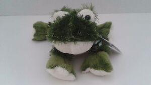 Webkinz-Lil-039-Kinz-Ganz-Green-Frog-Stuffed-Plush-Animal-Pet-Secret-Code-Sealed