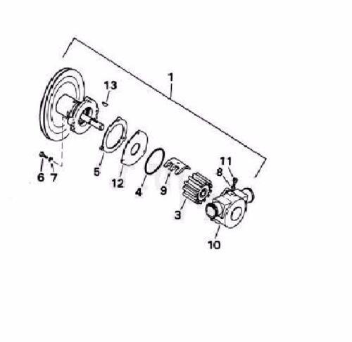 Volvo Penta impeller replaces 3854286 18838-0001 132-0117 NA90010 09959K