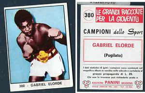 Gabriel-034-Flash-034-Elorde-Philippines-Panini-Boxing-CARD-1966-MINT-n-380