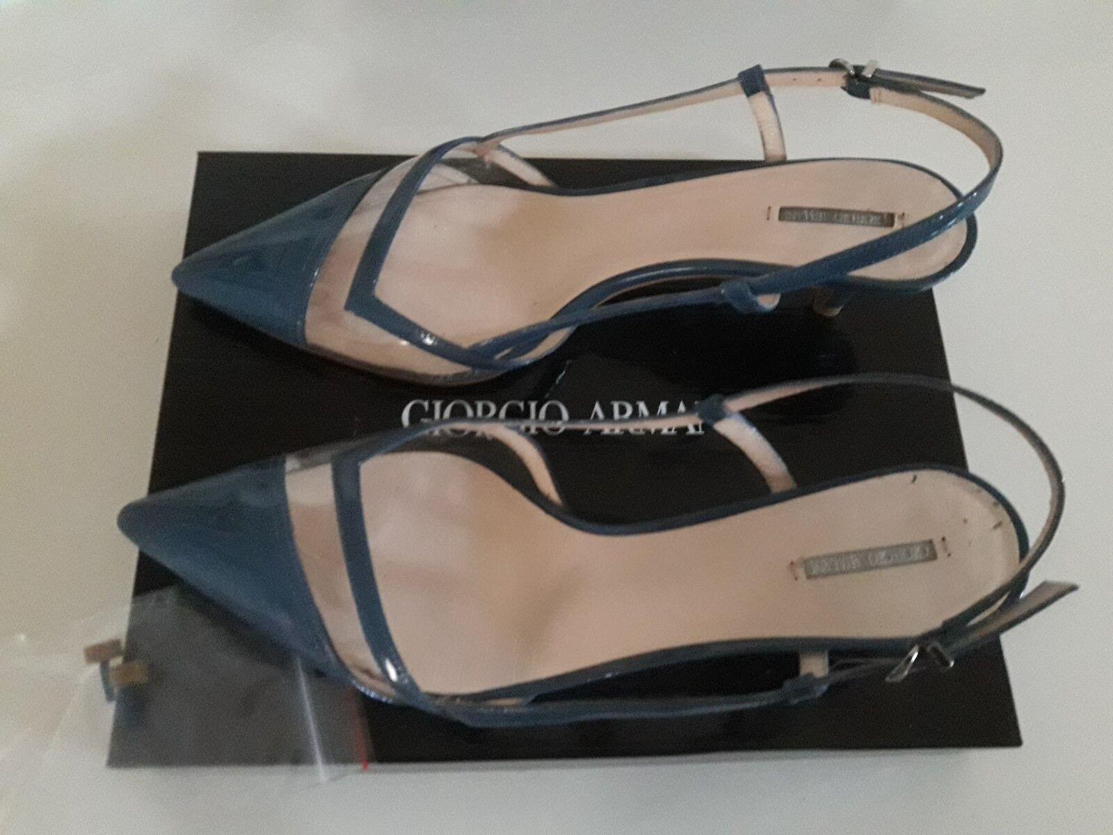 Giorgio Armani shoes Eleganti women n.39 Certificato Garanzia Imballi Originali