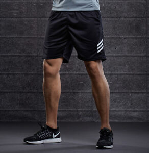 Men-039-s-Sports-Sweat-Shorts-Pants-Training-with-Zipper-Pockets-Casual-Gym-Running