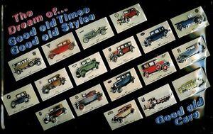 Oldtimer-diverser-Marken-Blechschild-Schild-Blech-Metall-Tin-Sign-20-x-30-cm