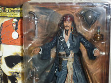 NECA Captain Jack Sparrow PIRATES OF THE CARIBBEAN Series 1 Fluch Der Karibik