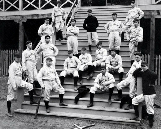 1899 St. Louis Perfectos Photo 8X10 - Cardinals Cy Young  Buy Any 2 Get 1 FREE