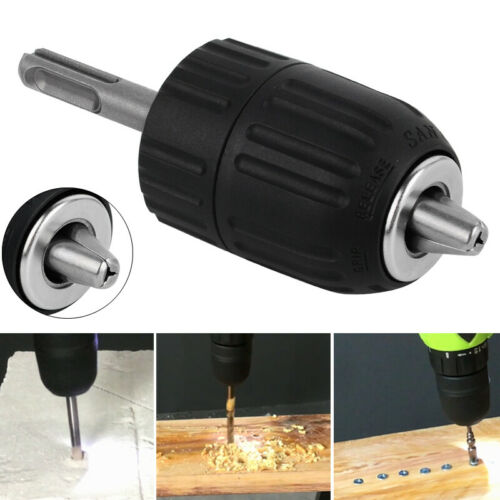 2-13mm 1//2-20UNF Sans clé Foret Perceuse Mandrin Collet Serrage SDS Adaptateur