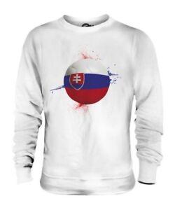 Mondo Del Maglione Calcio Sport Unisex Slovacchia Coppa Regalo Awgxq