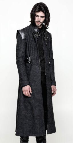 da Gothic Camouflage Punkrave Steampunk Punk uomo Cappotto Military UxgTdU