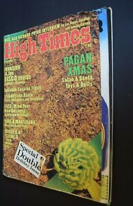 MB-118 High Times Magazine December 1977 Issue Disco Droids Richard Pryor more