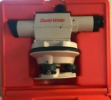 David White Alp6 18 Auto Level
