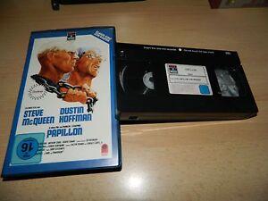 PAPILLON - Steve McQueen - Dustin Hoffman - RCA Columbia - VHS - Bad Wünnenberg, Deutschland - PAPILLON - Steve McQueen - Dustin Hoffman - RCA Columbia - VHS - Bad Wünnenberg, Deutschland