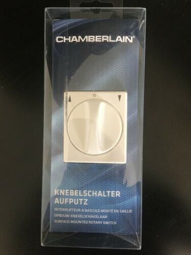 Rollladenschalter Aufputz neu OVP CHAMBERLAIN Knebelschalter