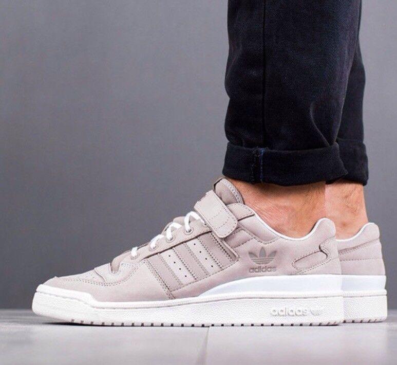 Adidas Originals Forum Lo BY3650 Vapor Grey Core White Low Shoes Sneakers
