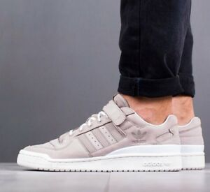 quality design 74f8c 14449 Image is loading Adidas-Originals-Forum-Lo-BY3650-Vapor-Grey-Core-