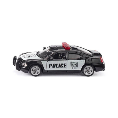 "° Modellauto NEU Siku 1404 Dodge Charger /""US Streifenwagen/"" Blister"