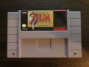 Details about Legend Of Zelda : A Link To The Past - Snes (Super Nintendo)  French Version !