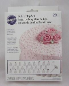Details about Wilton Industries Inc 29 Pc Deluxe Decorating Tip Set NEW