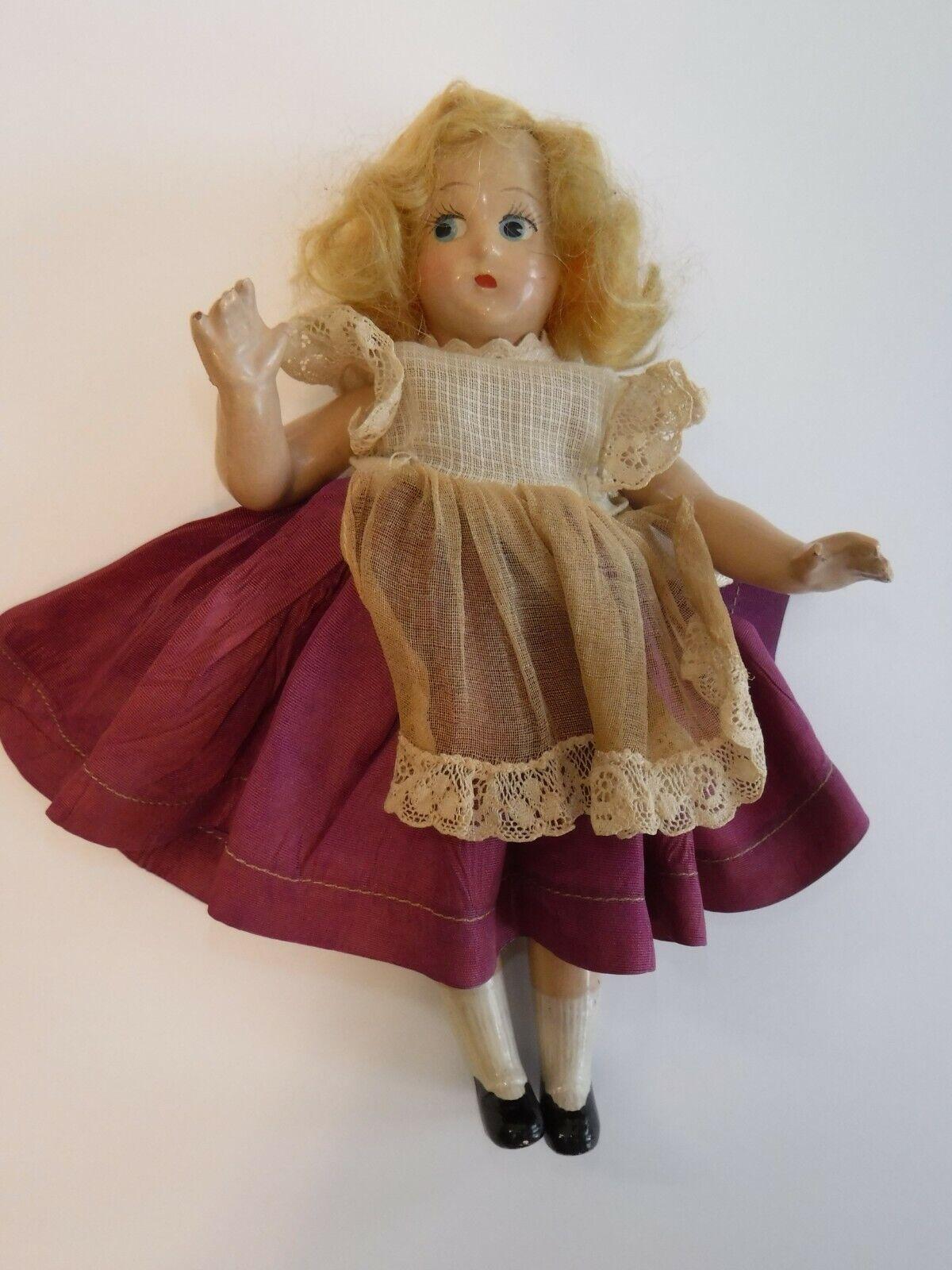 Madame Alexander Muñeca Pequeña Betty composición 7  Vestido con etiqueta