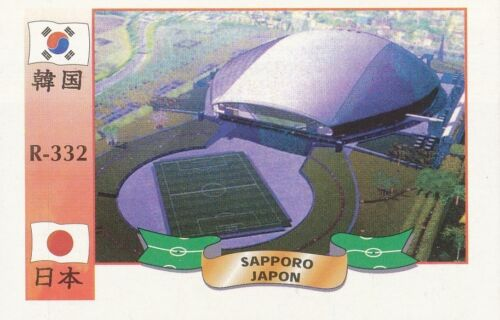 332 STADIUM STADE ESTADIO SAPPORO DOME JAPAN CARD WORLD CUP 2002 REYAUCA